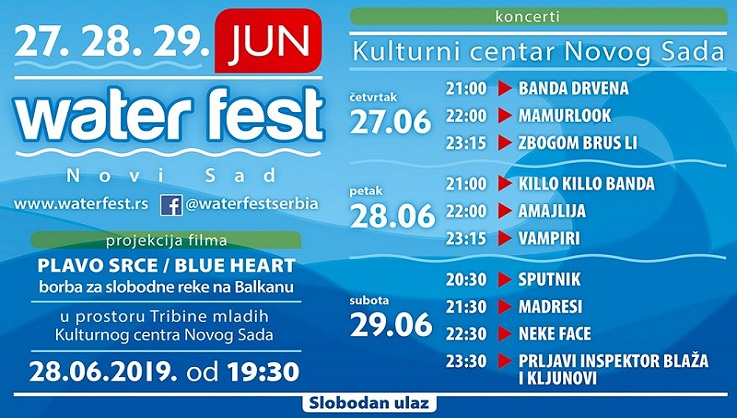 WaterFest - Novi Sad